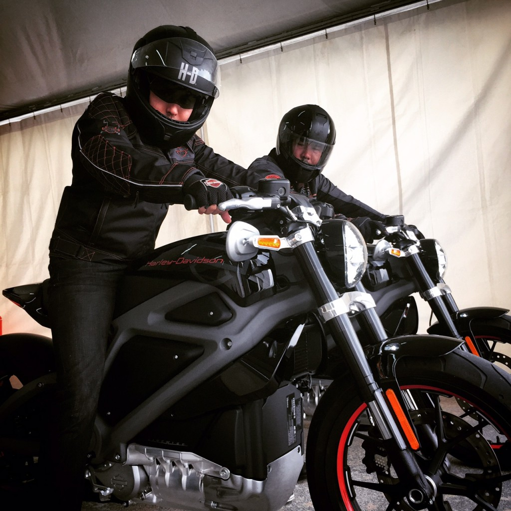 Testing the electric Harley-Davidson Livewire