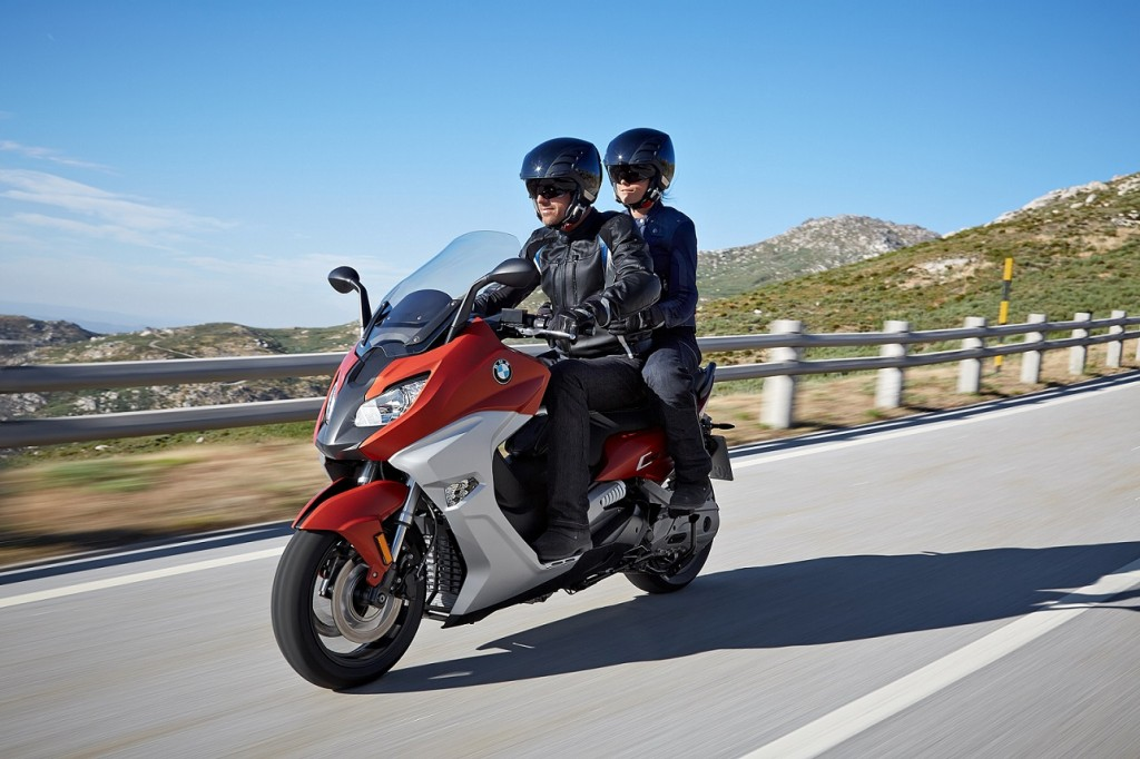 The new BMW C 650 Sport (2)
