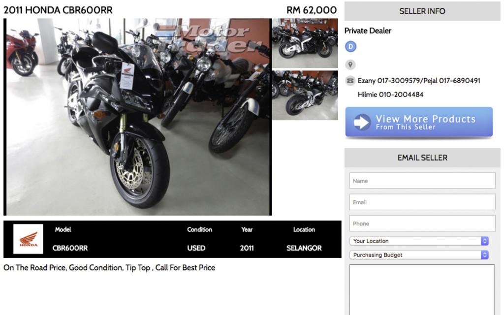 3 Honda CBR600RR