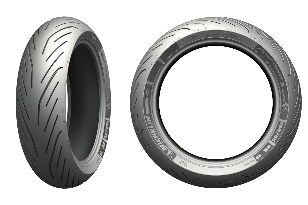 michelin pilot power 3 motogp ltd edition tyres announced. Black Bedroom Furniture Sets. Home Design Ideas