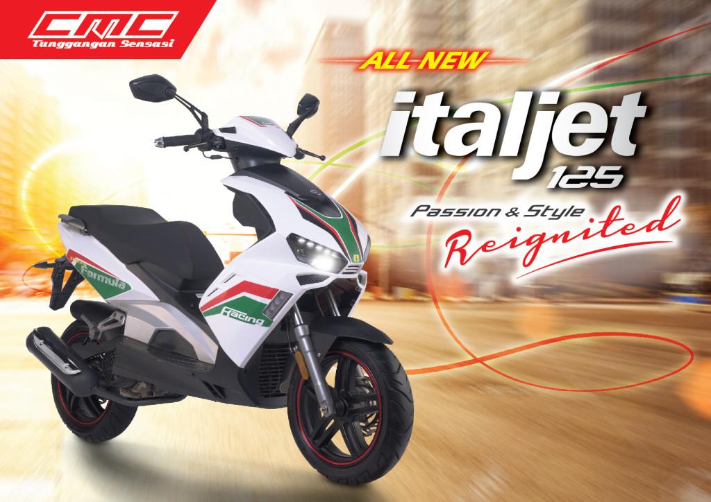 CMC Italjet 125 - Brochure (Front)