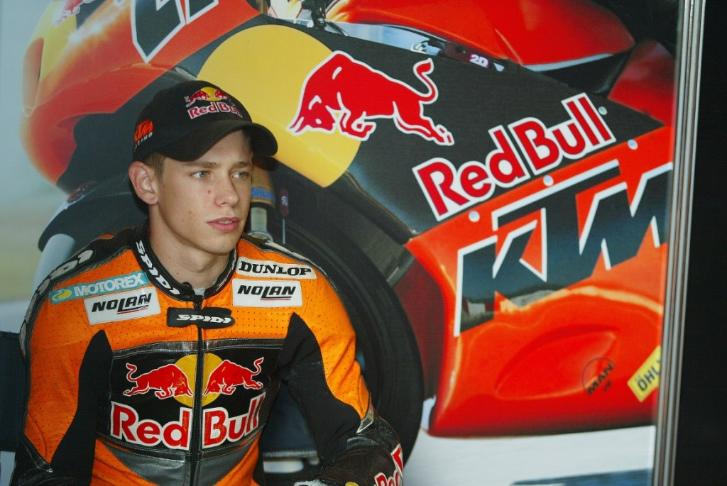Casey during his second year in the World 125cc Championship with KTM. (Image source: KTM.com)