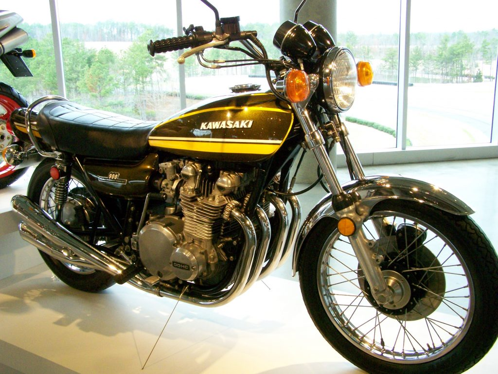 1974 Kawasaki Z1 (image credit: Chiuck Shultz via Wikipedia)