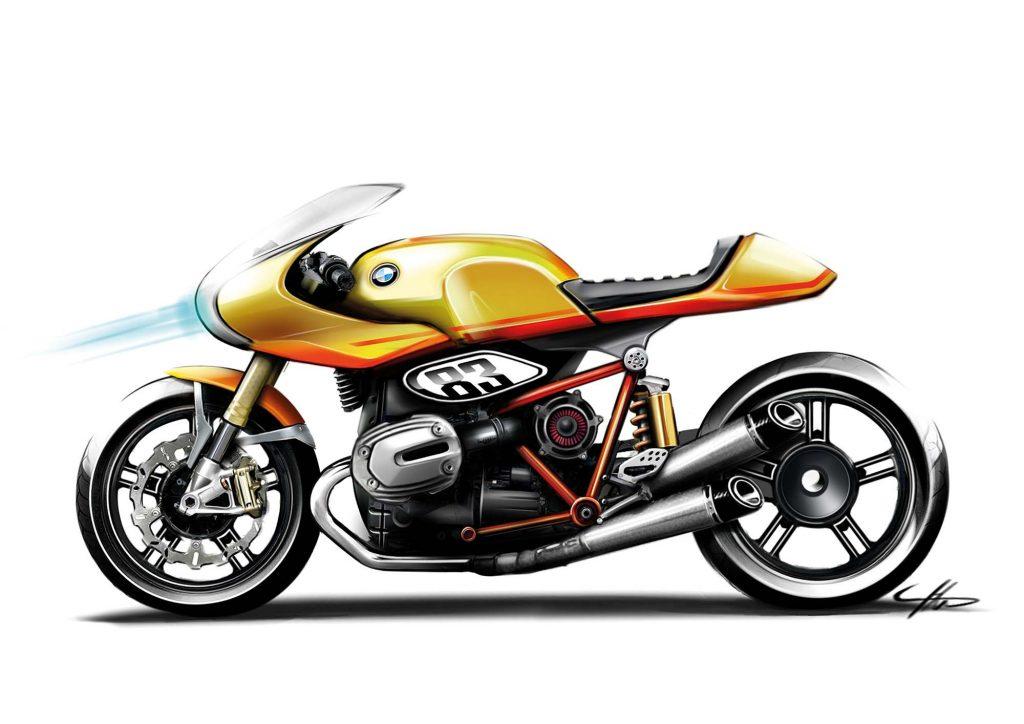 BMW Concept Ninety sketch