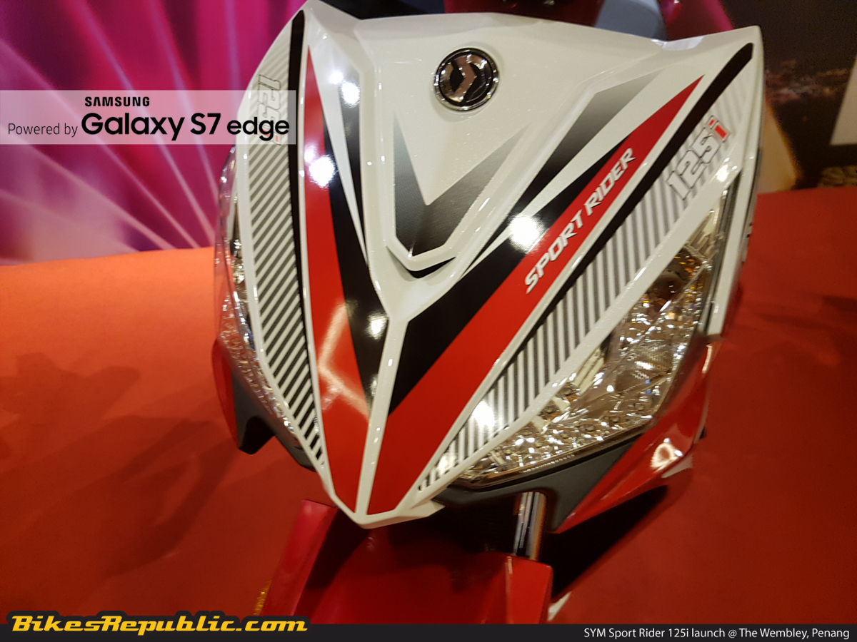 New SYM Sport Rider 125i launched from RM5,777* - BikesRepublic