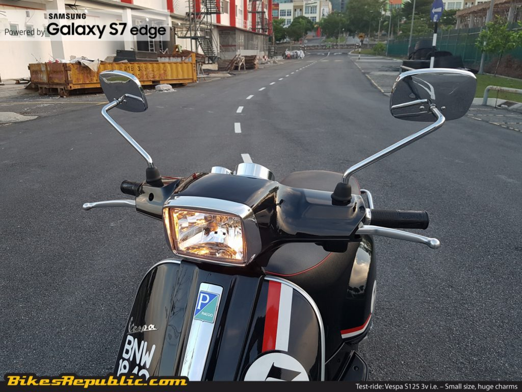 Test-ride: Vespa S125 3v i e  – Small size, huge charms - BikesRepublic