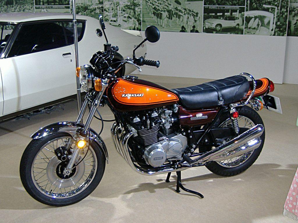 Kawasaki Z1(image credit: Manju via Wikipedia)