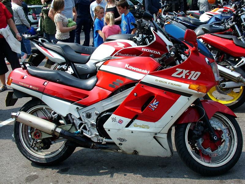 1988 Kawasaki Tomcat ZX-10 (Image credit: Reg Mckenna via Wikipedia)
