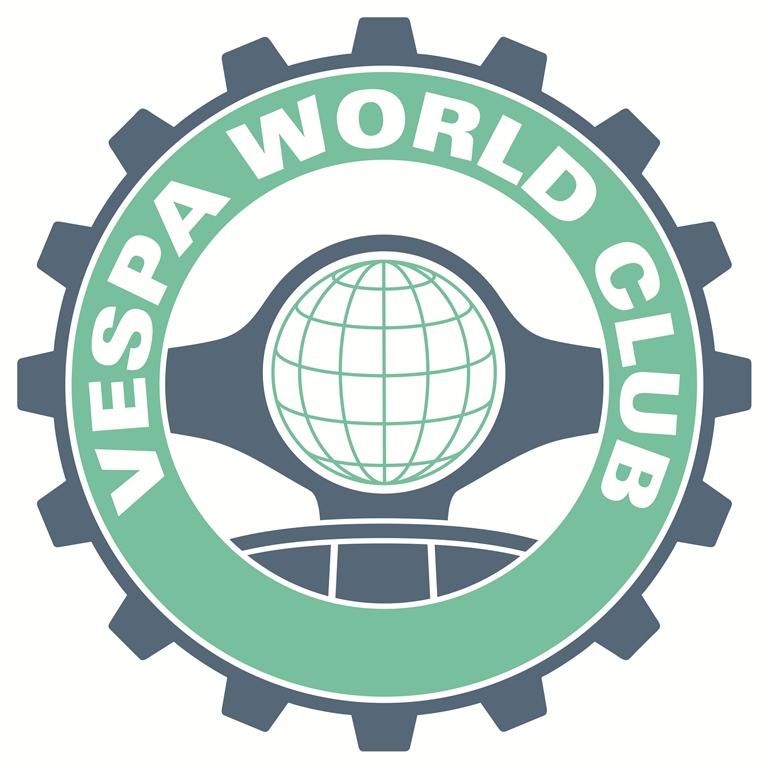 The Vespa World Club logo.
