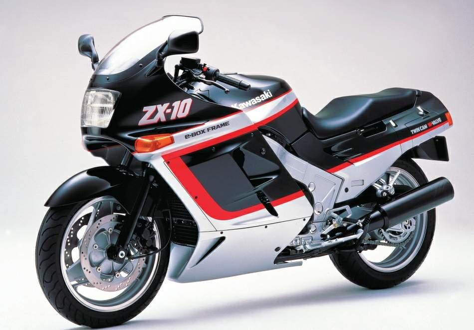 1988 Kawasaki Tomcat ZX-10 (Image source: motorcyclespecs.co.za)