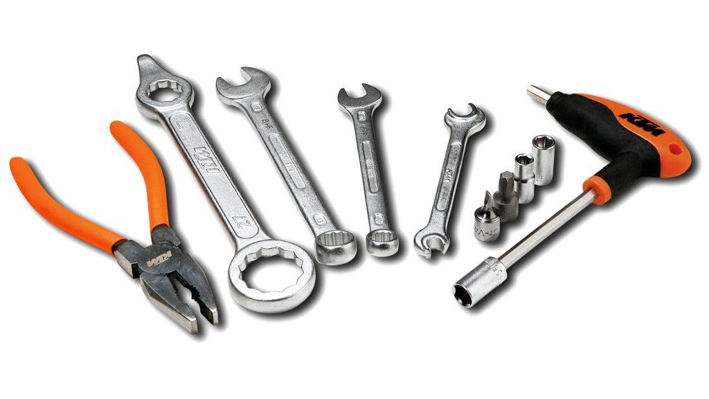 Bring a basic set of tools.