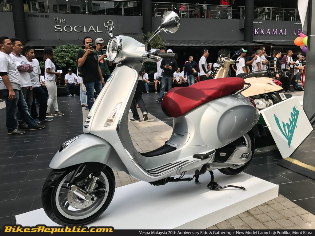 Vespa Malaysia Launches Six New Models Bikesrepublic
