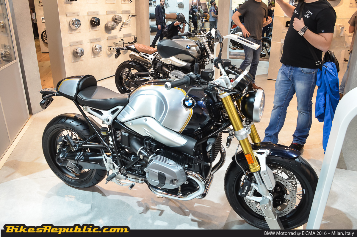 bmw motorrad eicma 2016 r nine t urban g s and more. Black Bedroom Furniture Sets. Home Design Ideas