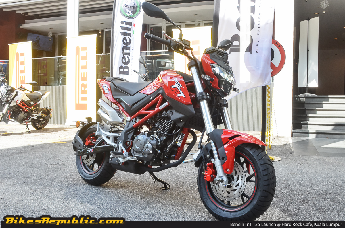 New Benelli TnT 135 mini-moto launched – from RM7,990* (with