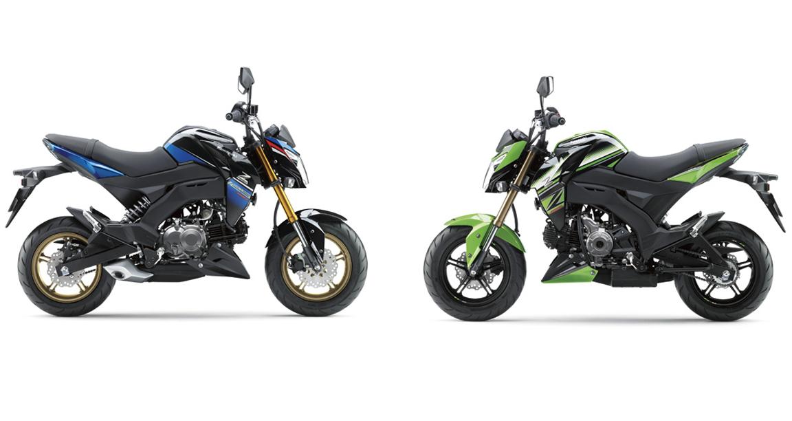 New Special Colours For Kawasaki Z125 Pro Revealed Bikesrepublic