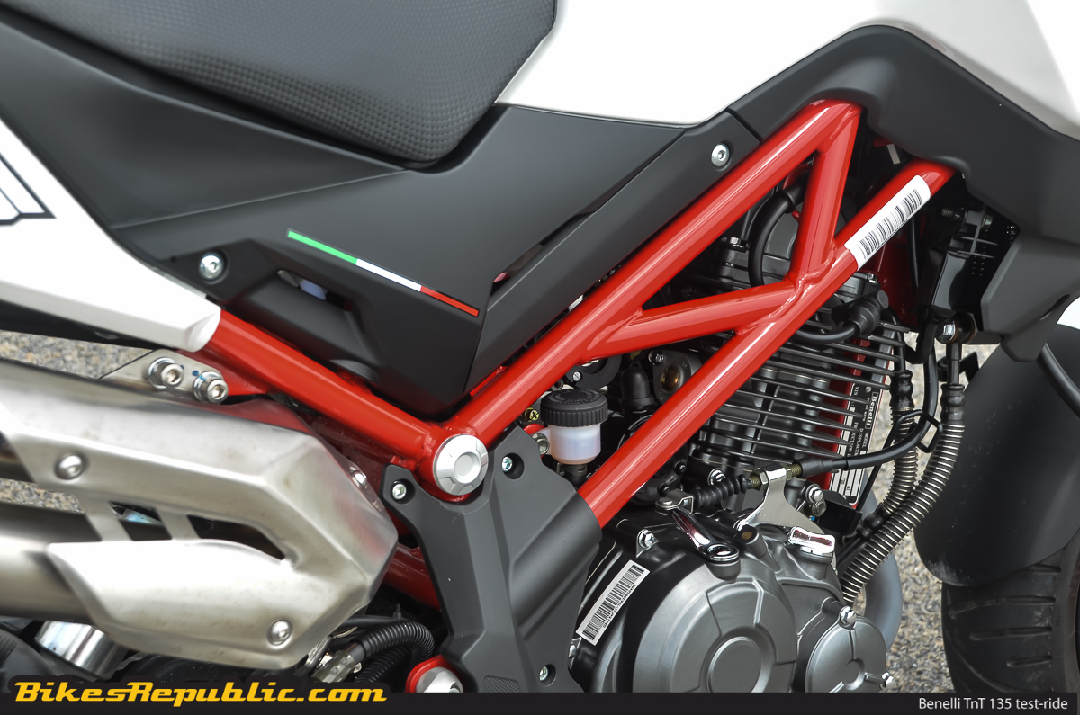 Test-ride: Benelli TnT 135 – Mighty mini-moto! - BikesRepublic