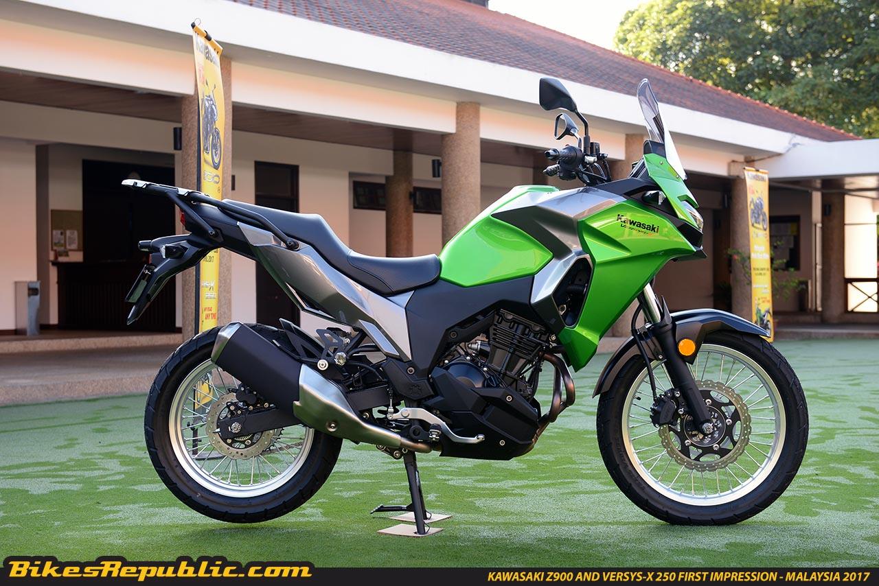 First Impression: Kawasaki Versys X 250