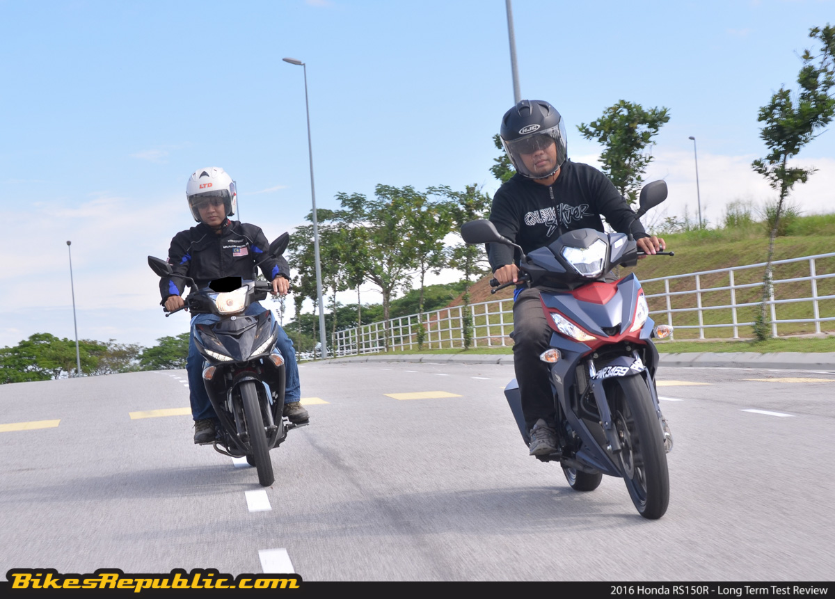 2016 Honda RS150R – Long Term Test - BikesRepublic