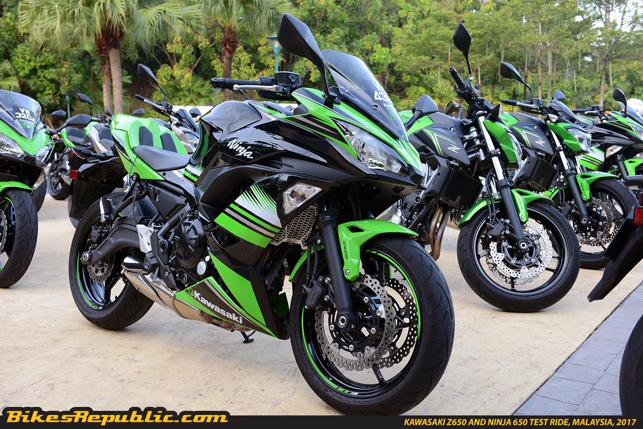 Top 10 Things We Like About The 2017 Kawasaki Ninja 650 Abs