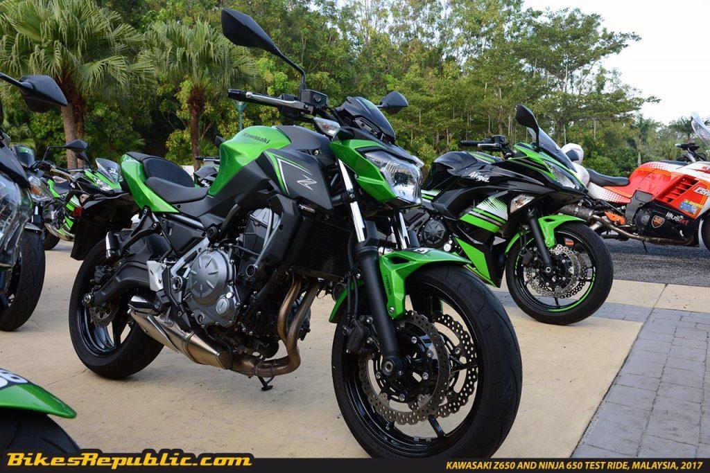 New Kawasaki Z650 And Ninja 650 Tried And Tested