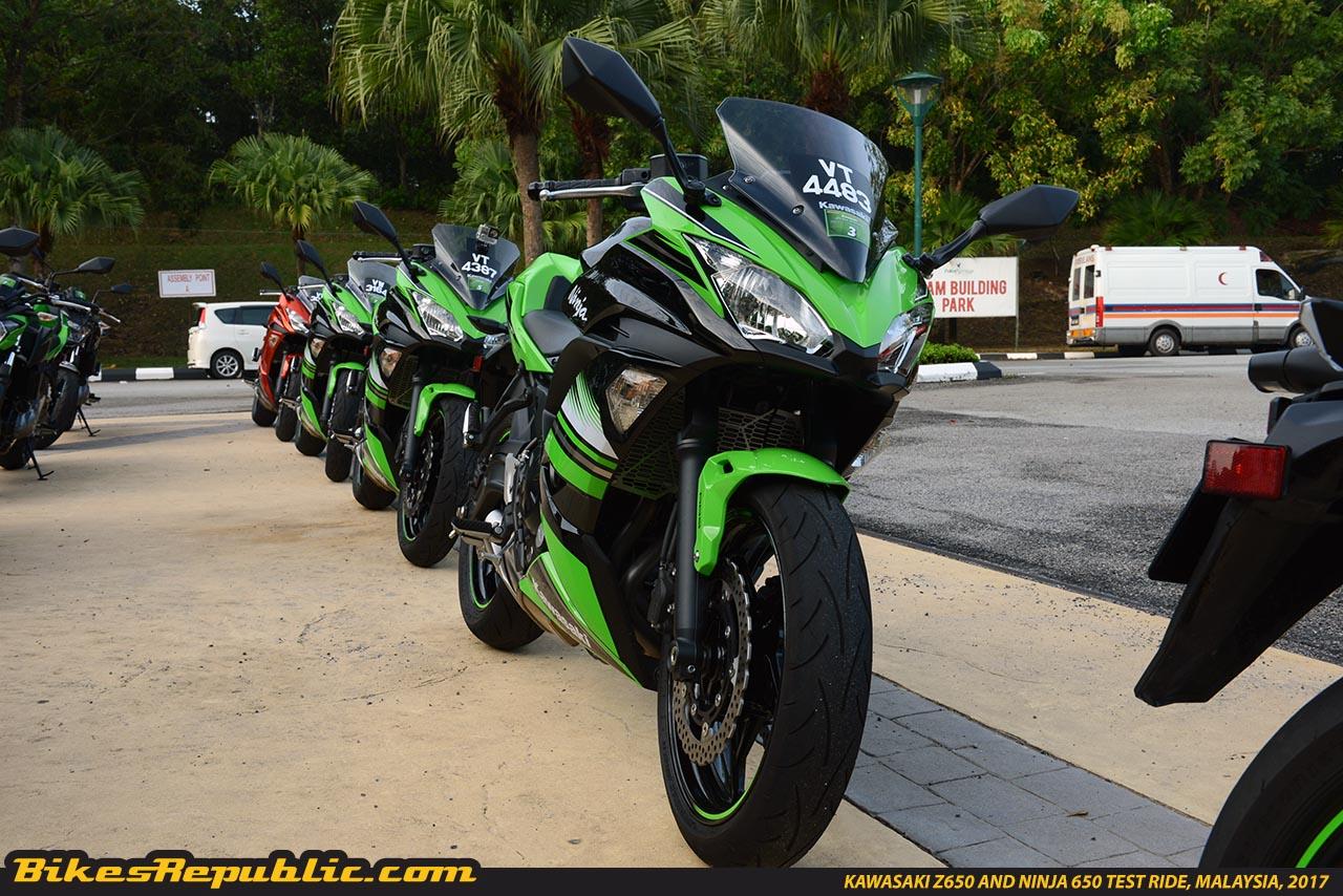 2017 Kawasaki Ninja 650 Abs Bikesrepublic