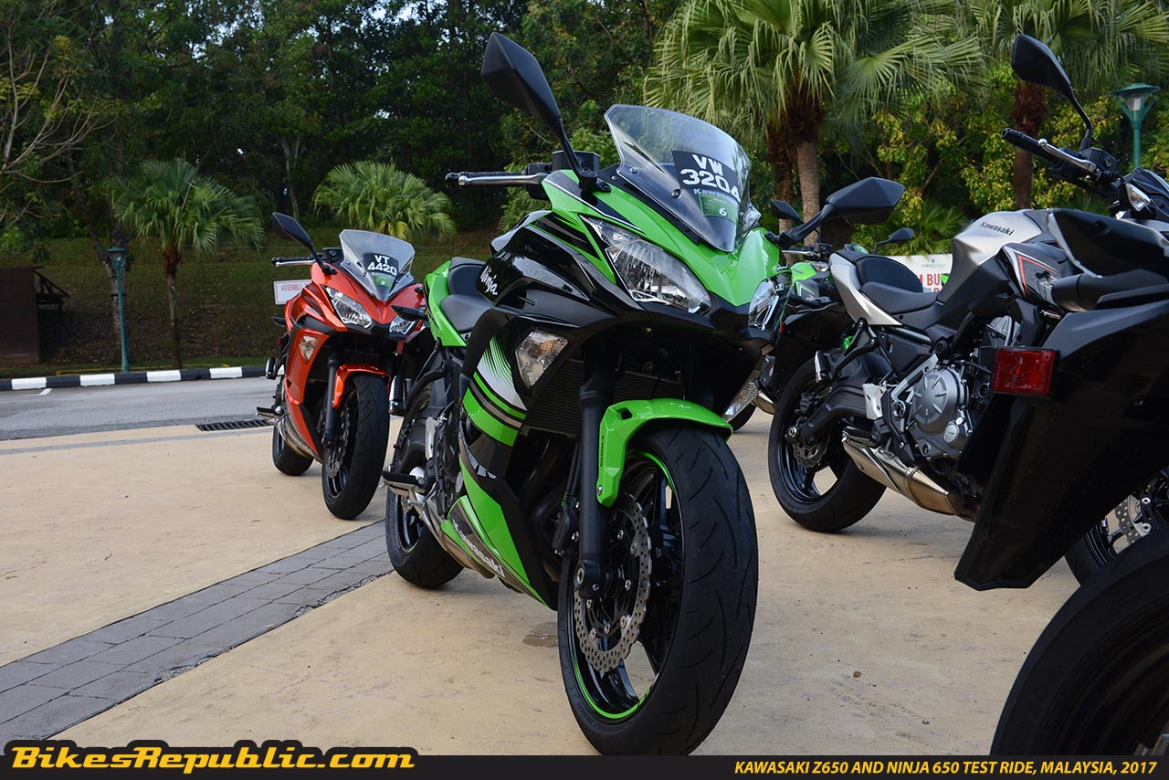 Kawasaki Z650 And Ninja 650 Test Ride Malaysiaksd5145 Bikesrepublic