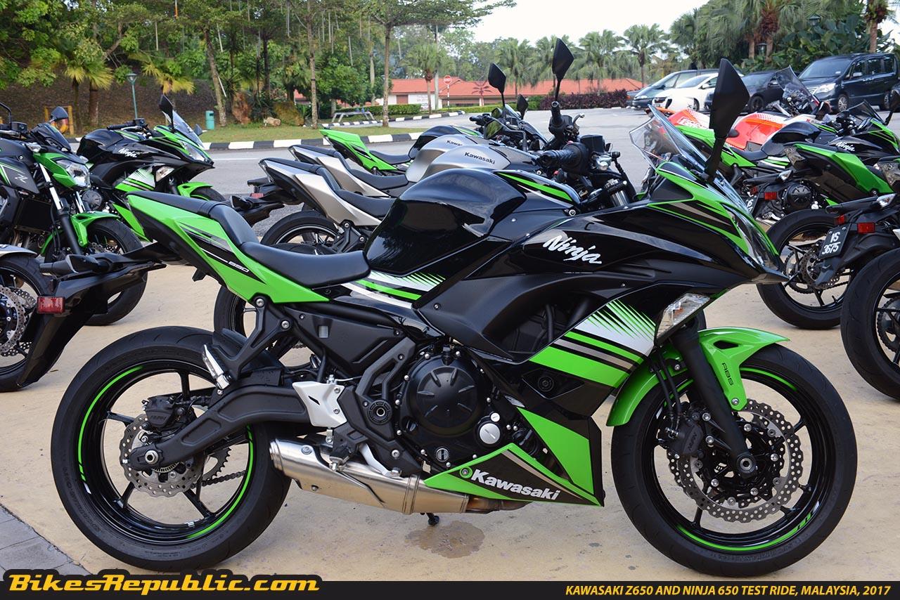 Kawasaki Z650 And Ninja 650 Test Ride Malaysiaksd5149 Bikesrepublic