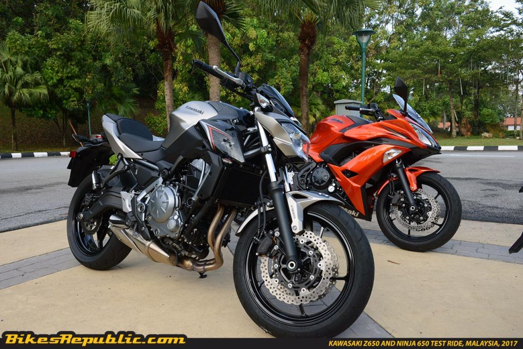 New Kawasaki Z650 And Ninja 650 Tried And Tested