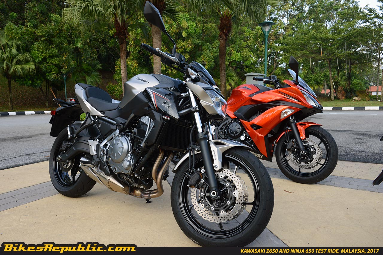 kawasaki z650 and ninja 650 test ride malaysiaksd 5177. Black Bedroom Furniture Sets. Home Design Ideas