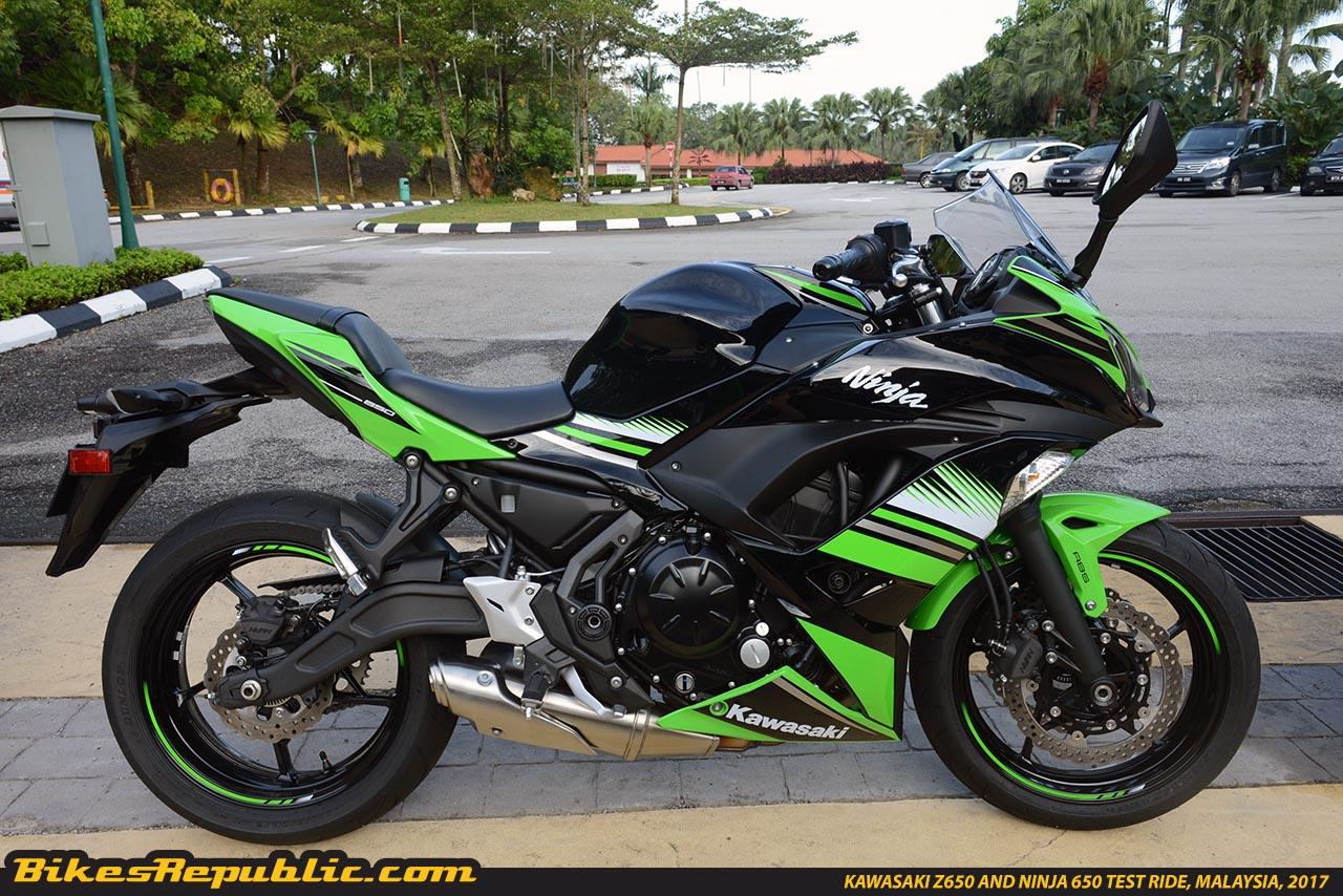 Kawasaki Z650 And Ninja 650 Test Ride Malaysiaksd5181 Bikesrepublic