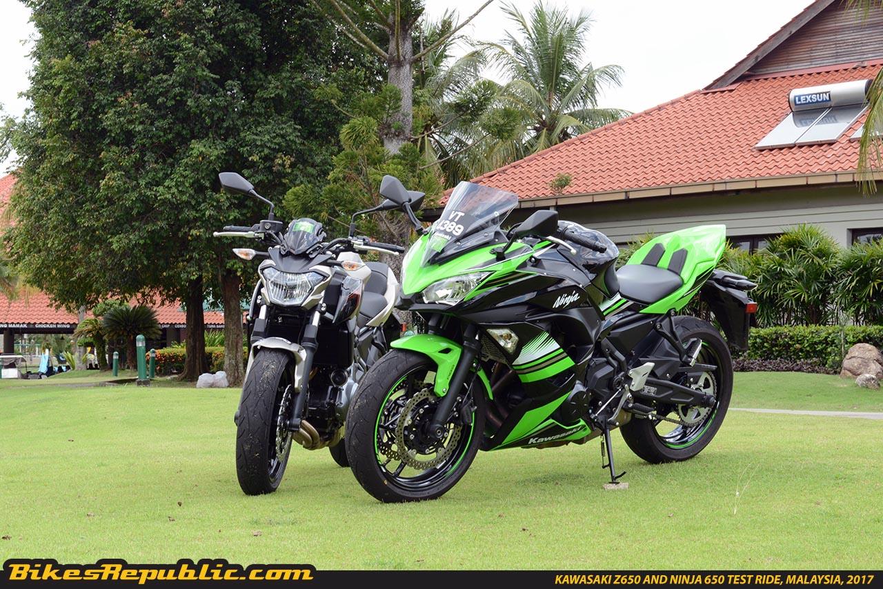 Kawasaki Z650 And Ninja 650 Test Ride Malaysiaksd5258 Bikesrepublic