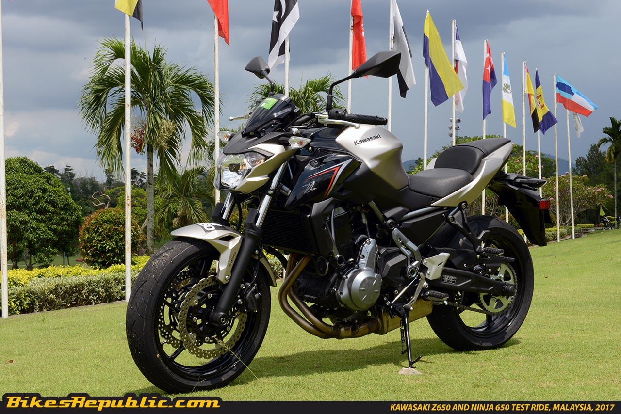 Kawasaki Z650 And Ninja 650 Test Ride Malaysiaksd5324 Bikesrepublic