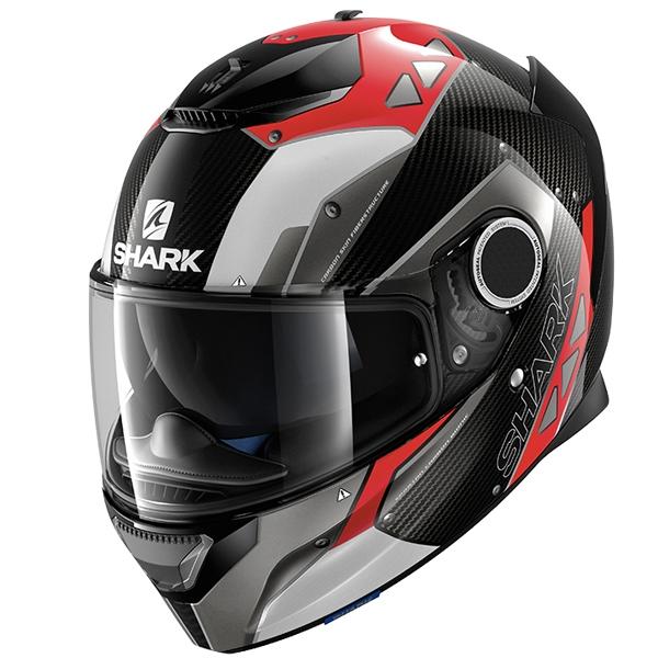 shark spartan carbon helmet now comes in 14 different. Black Bedroom Furniture Sets. Home Design Ideas