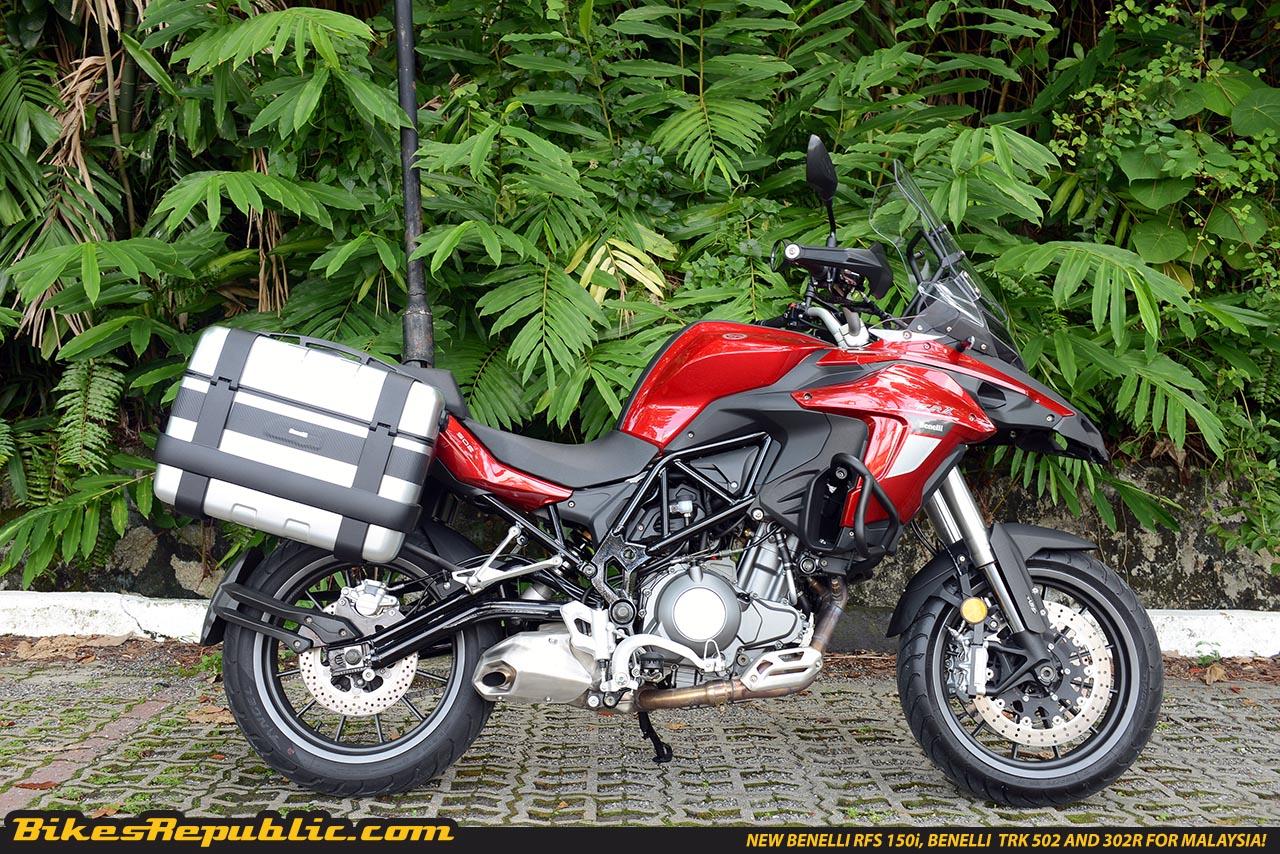 First Impression: New Benelli TRK 502 Adventure Bike