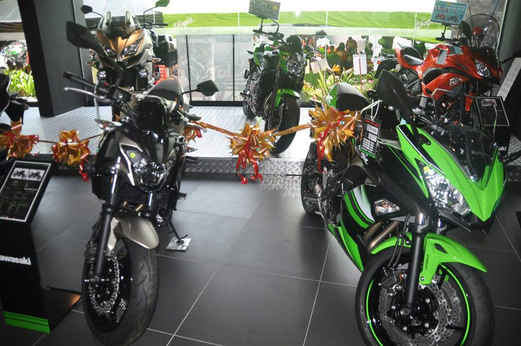 Bikers Gallery Sdn Bhd Alor Setar Launches First Kawasaki Ninja