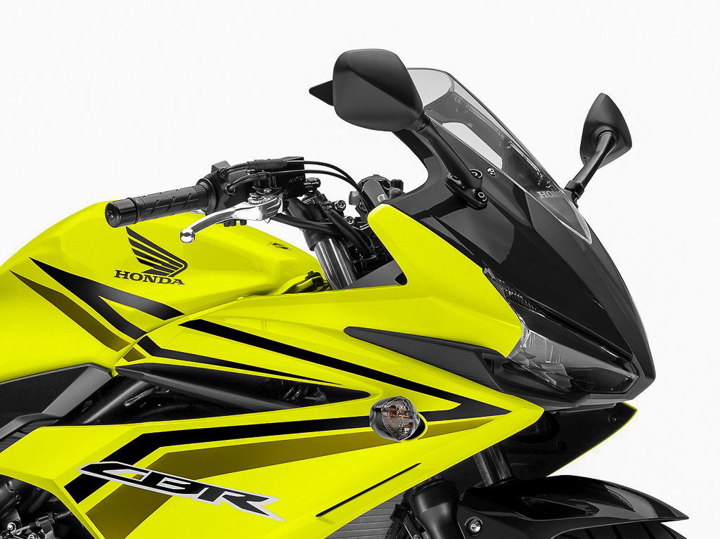 New Colour For The 2017 Honda Cbr500r And Cb500f Lemon Ice Yellow