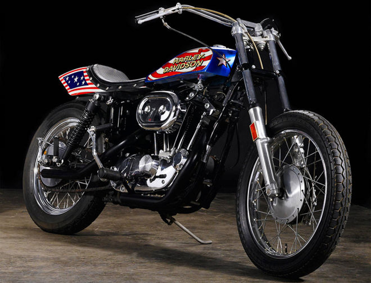 Evil Knievel Stunt Bike for Sale – From RM340,000