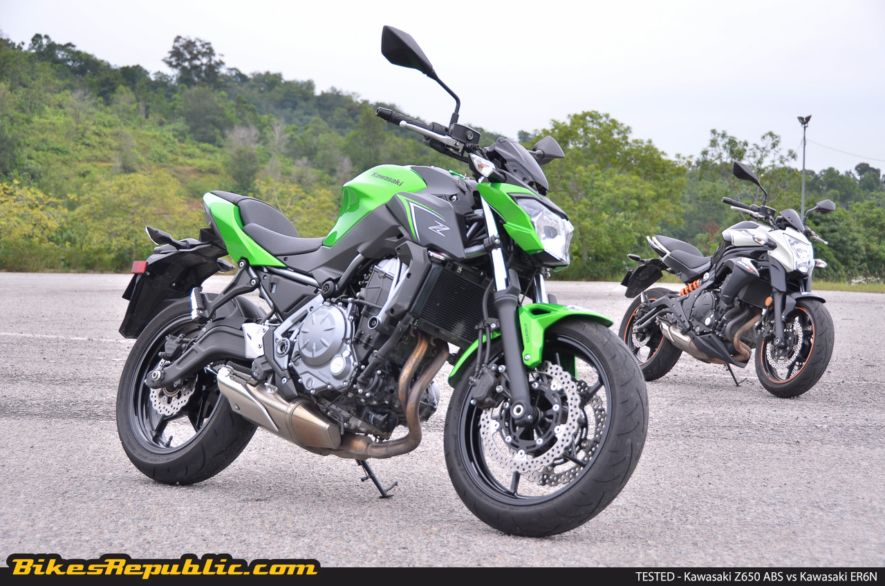 tested 2017 kawasaki z650 abs vs kawasaki er6n bikesrepublicin short, the z650 abs is not just a mere replacement but an evolution to something better much, much better