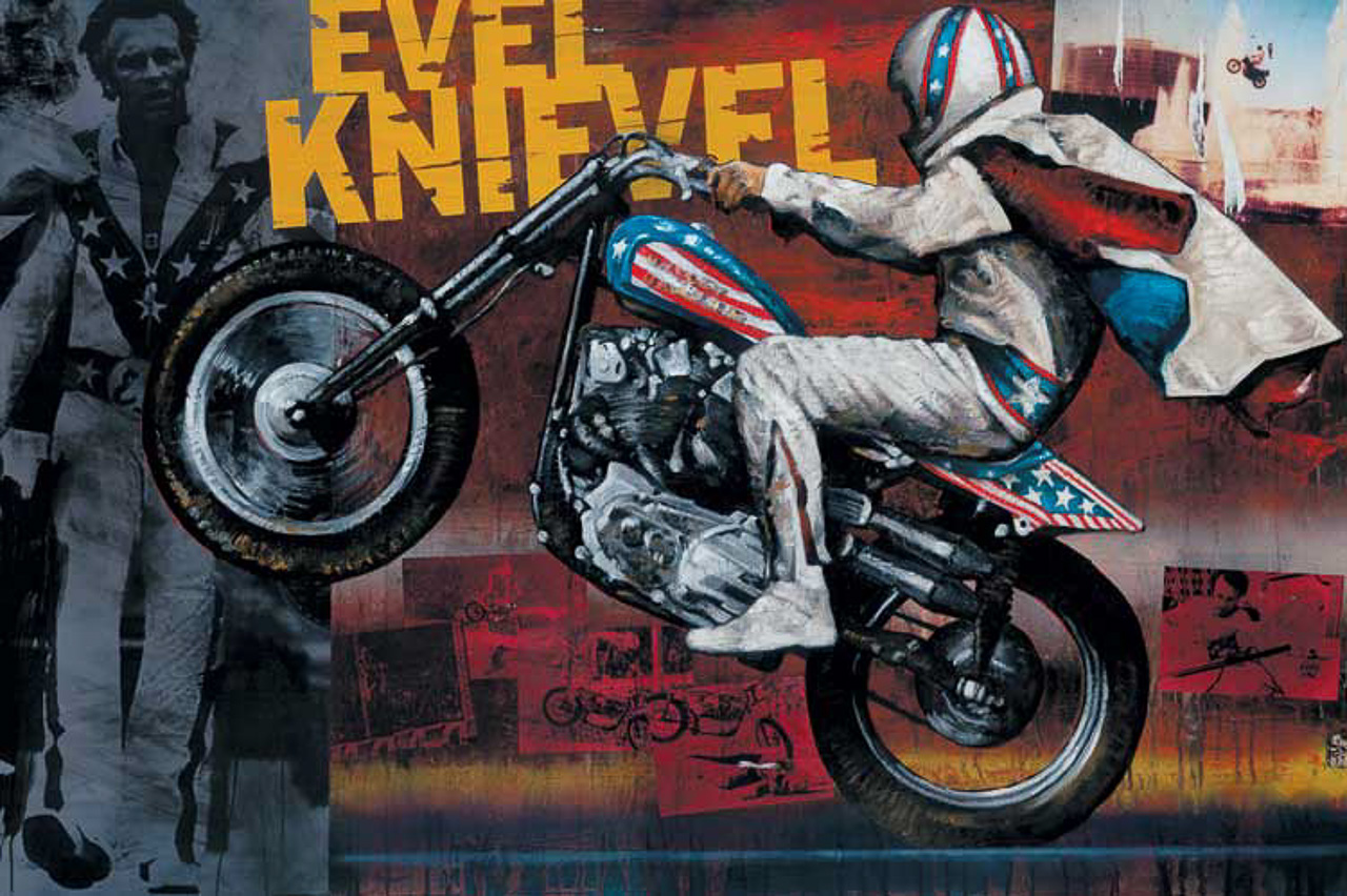 Evel Knievel S 1976 Harley Davidson Xl1000 Is For Sale: Evil Knievel Stunt Bike For Sale