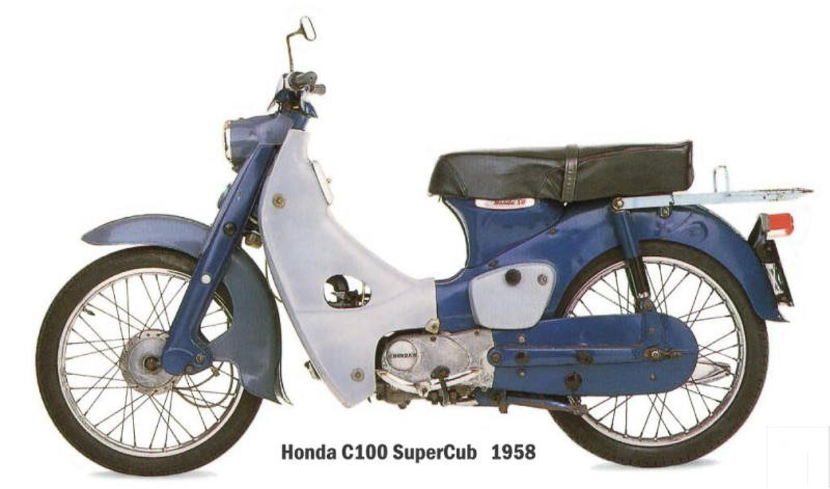 History Of Boon Siew Honda How It All Began Bikesrepublic 1 Set C70 1958 Super Cub