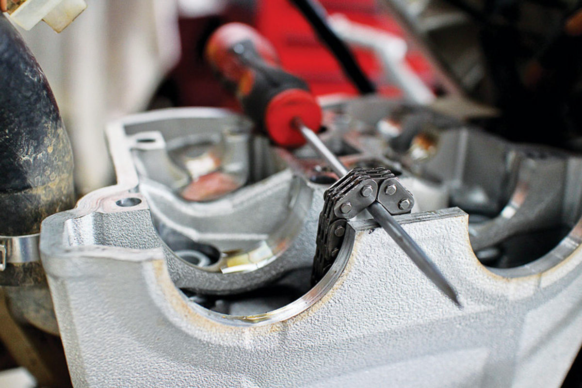 Why checking out your Bike's Valve Clearance is Important