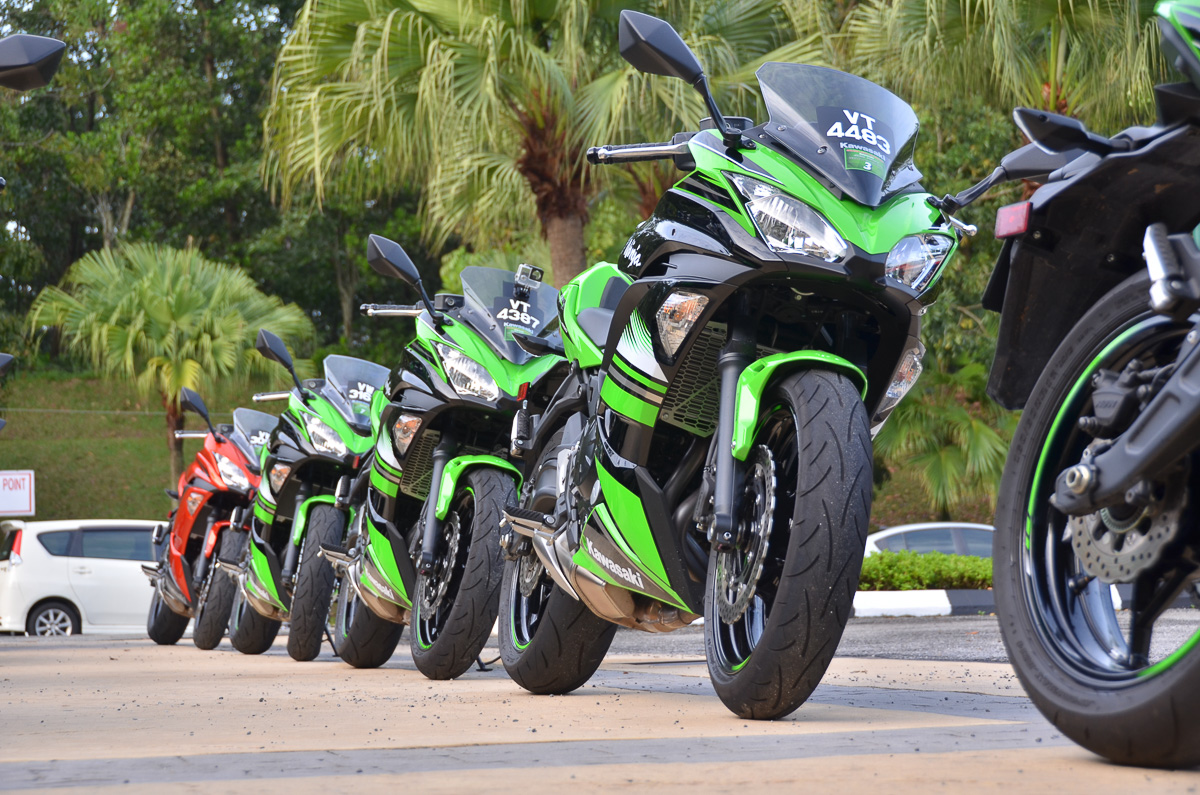 Kawasaki Ninja Series Theres A Ninja For Everyone Bikesrepublic