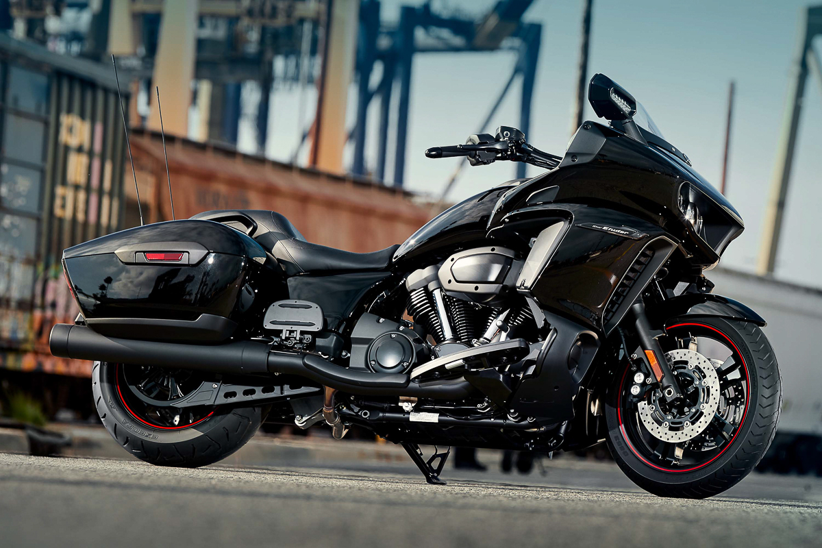 The World Needs To See The 2018 Yamaha Star Eluder Bagger