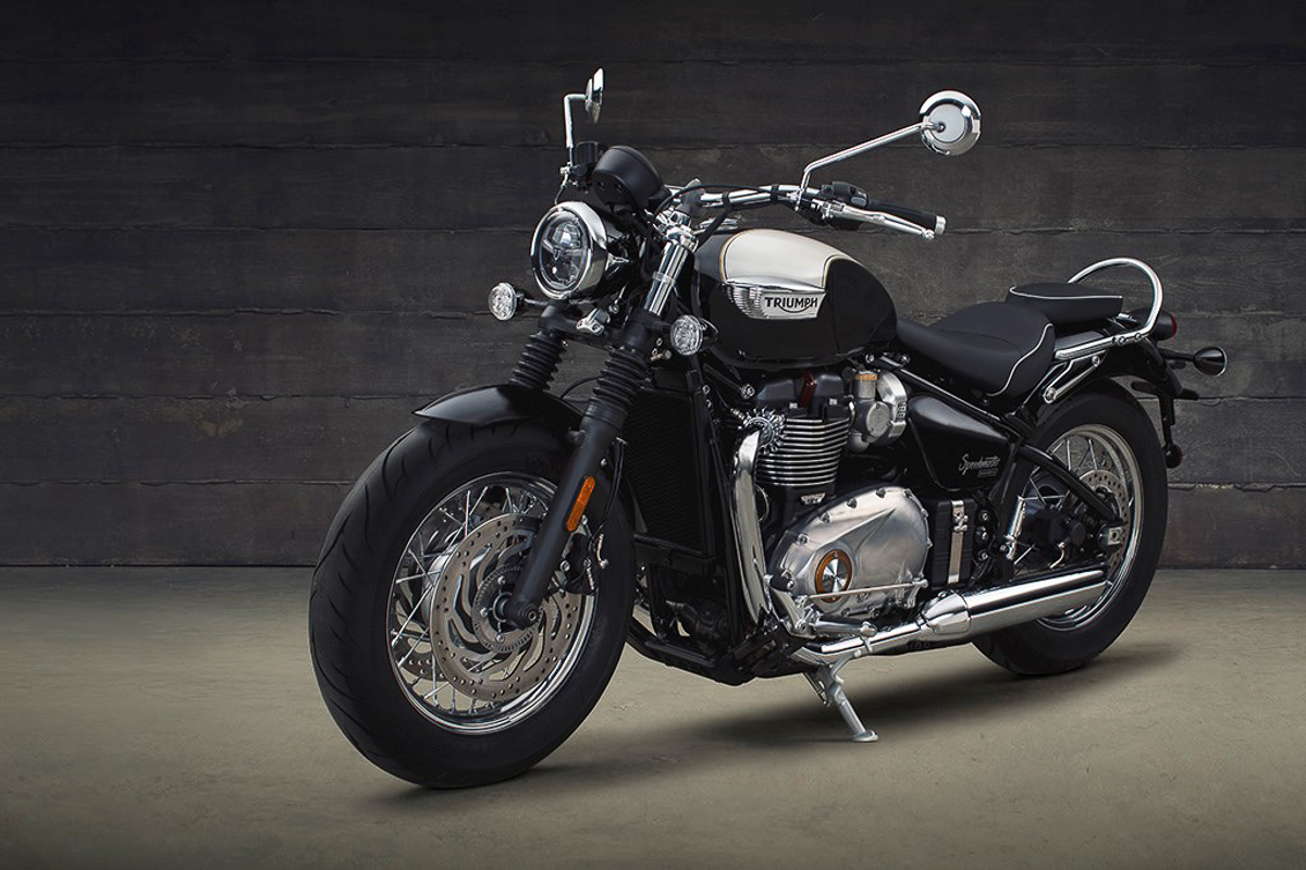 modern classic triumph motorcycles