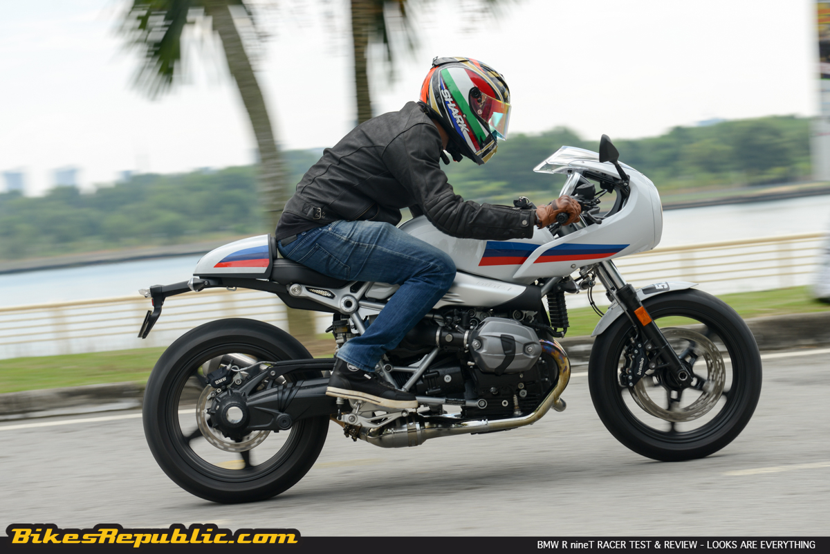 BMW R nineT Racer Test and Review – Looks are Everything