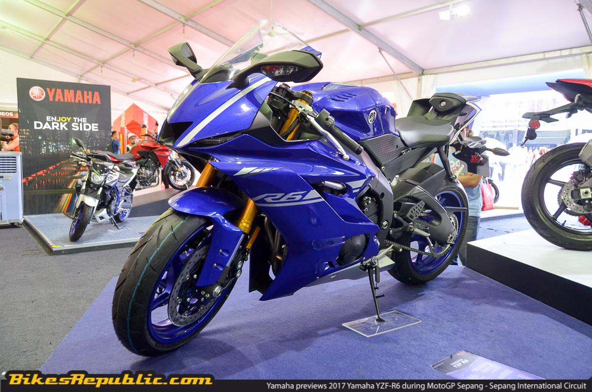Yamaha Previews 2017 Yamaha Yzf R6 During Motogp Sepang Bikesrepublic