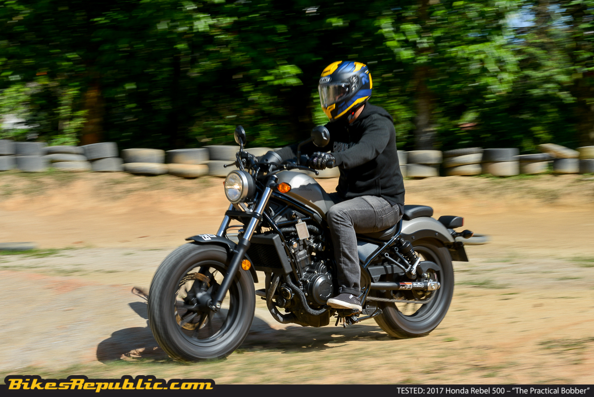 "TESTED: 2017 Honda Rebel 500 – ""The Practical Bobber"" - BikesRepublic"
