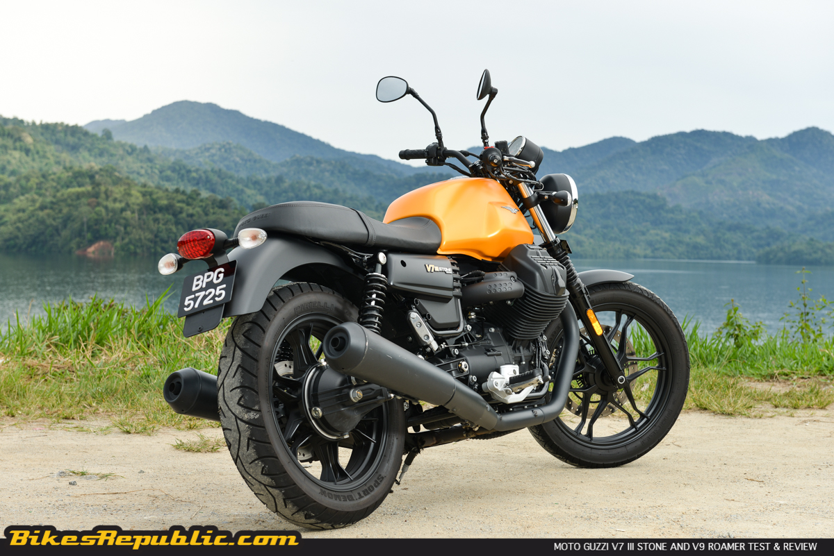 Moto Guzzi V7 Iii Stone And Moto Guzzi V9 Roamer Test Review