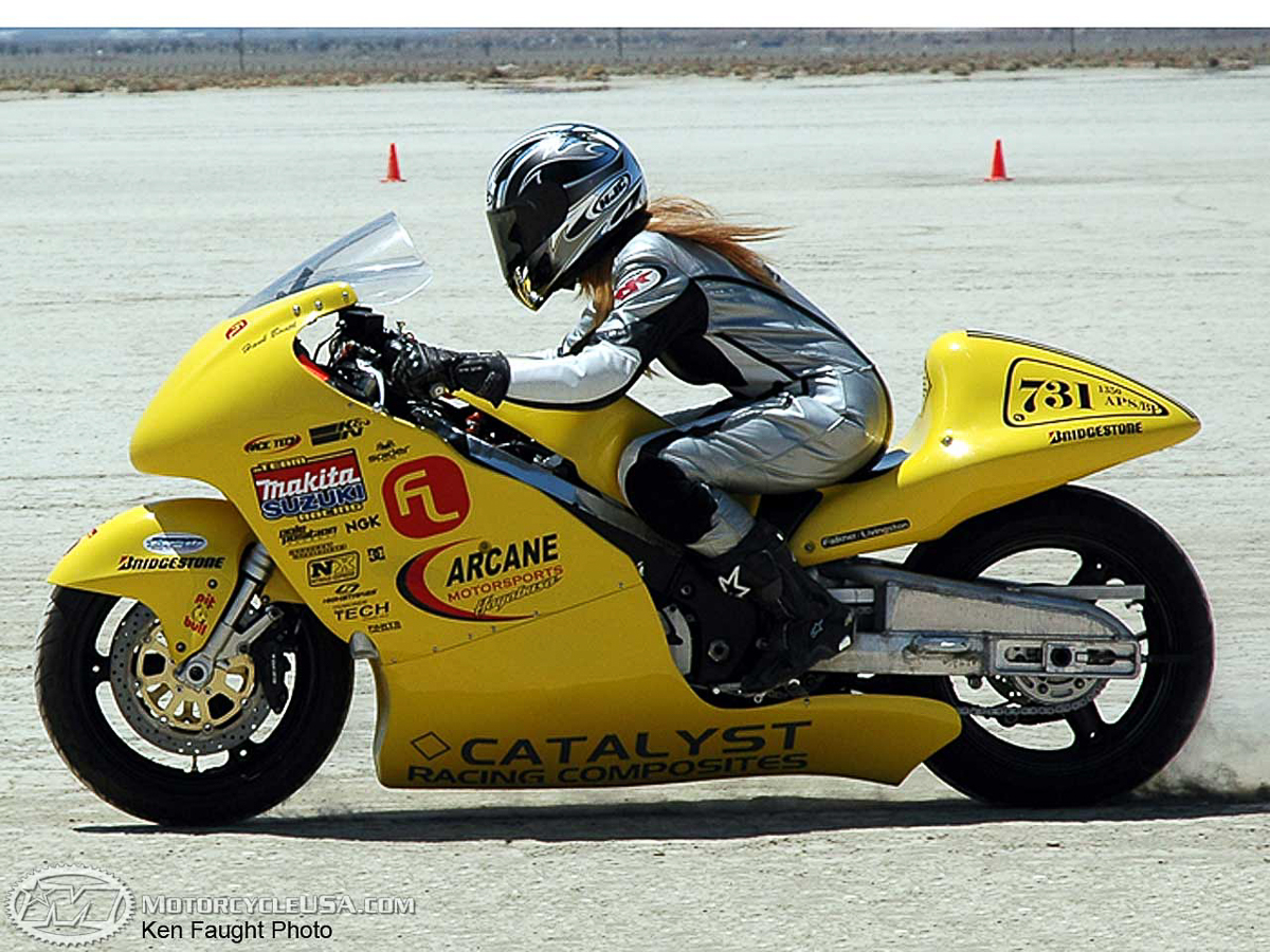 female motorcycle saudi susan racing woman race usa robertson toast fastest motorcycles driving ban fast 2005 empowered lifted source mirage