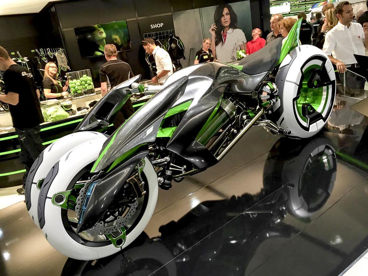 Kawasaki J Concept Three Wheeled Motorcycle Is Back Bikesrepublic